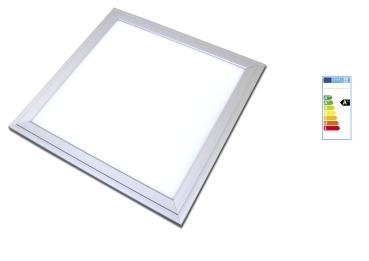 LED Panel 30x30cm 18 Watt IP20 Lichtfarbe 3000K silberoxid