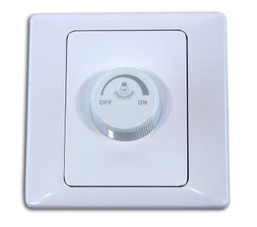 LED Dimmer 150 Watt mit Schalter Unterputz TSM