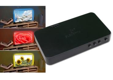 HDMI SYNC Box Kit LED Streifen 5 Meter RGB 60Leds/m 15Watt/m SMD5050 Strip