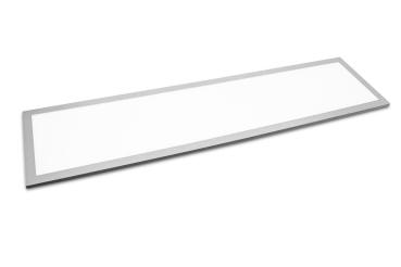TXL LED Panel 40 Watt 3000K IP65 120x30cm silber lackierter spaltfreier Rahmen