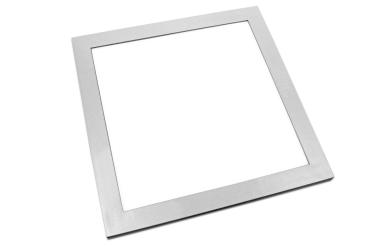 LED Panel wasserdicht 30x30cm in silber 18 Watt IP65 Lichtfarbe neutralweiss