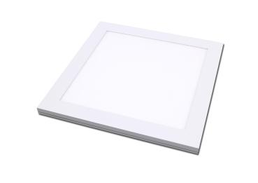 Zigbee LED Panel wasserdicht 30x30cm in ceramicweiß 18 Watt IP65 Lichtfarbe 4000K mit Zigbee oder Fernbedienung