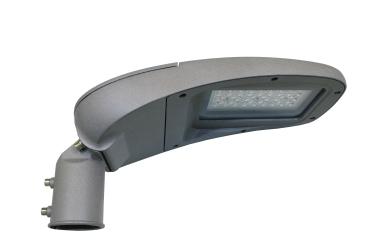 38 Watt Aluminium Straßenlaternenkopf - Gehwegleuchte - Parkplatzleuchte mit 120lm/Watt