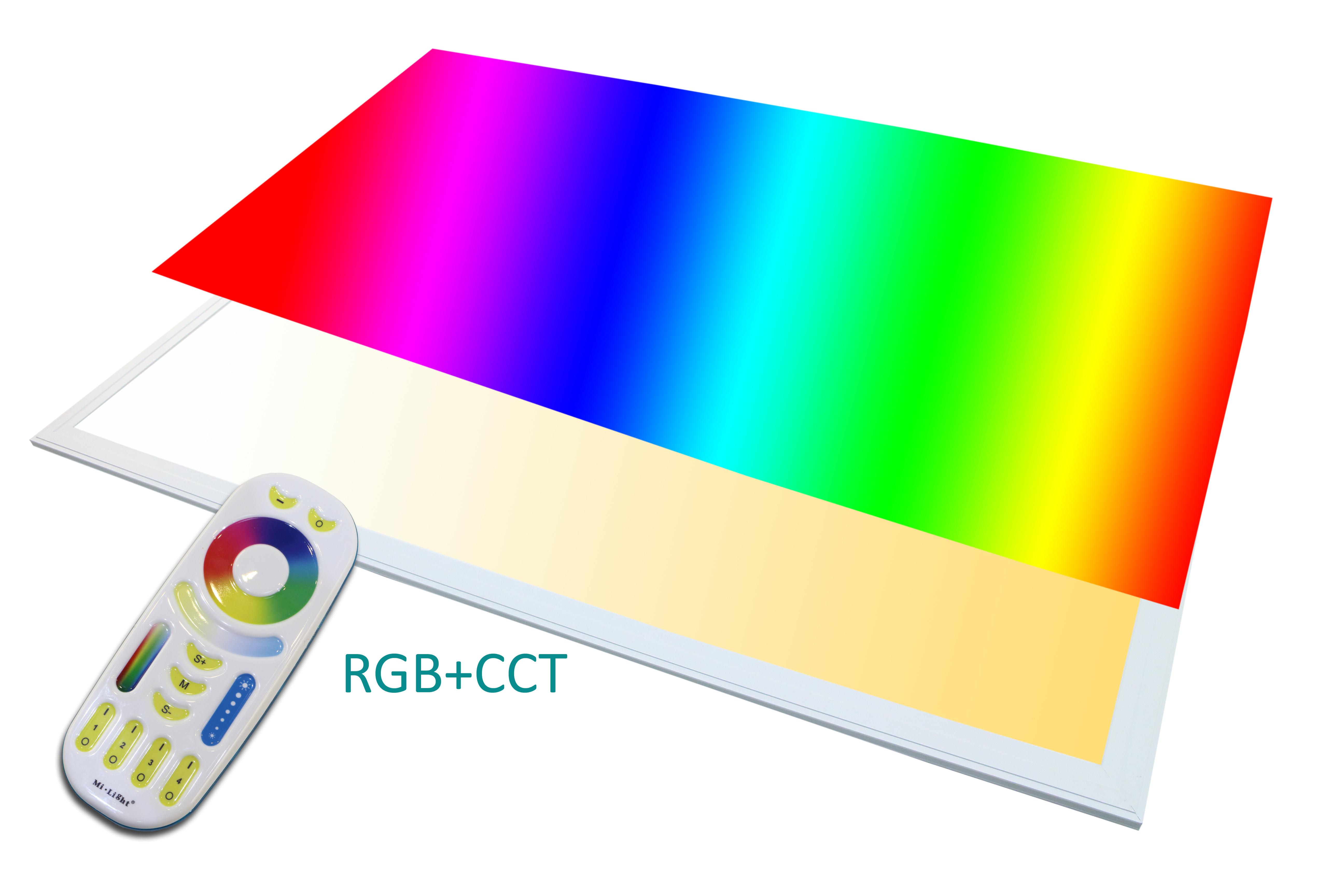txl led panel rgb   wwcw  watt dimmbar