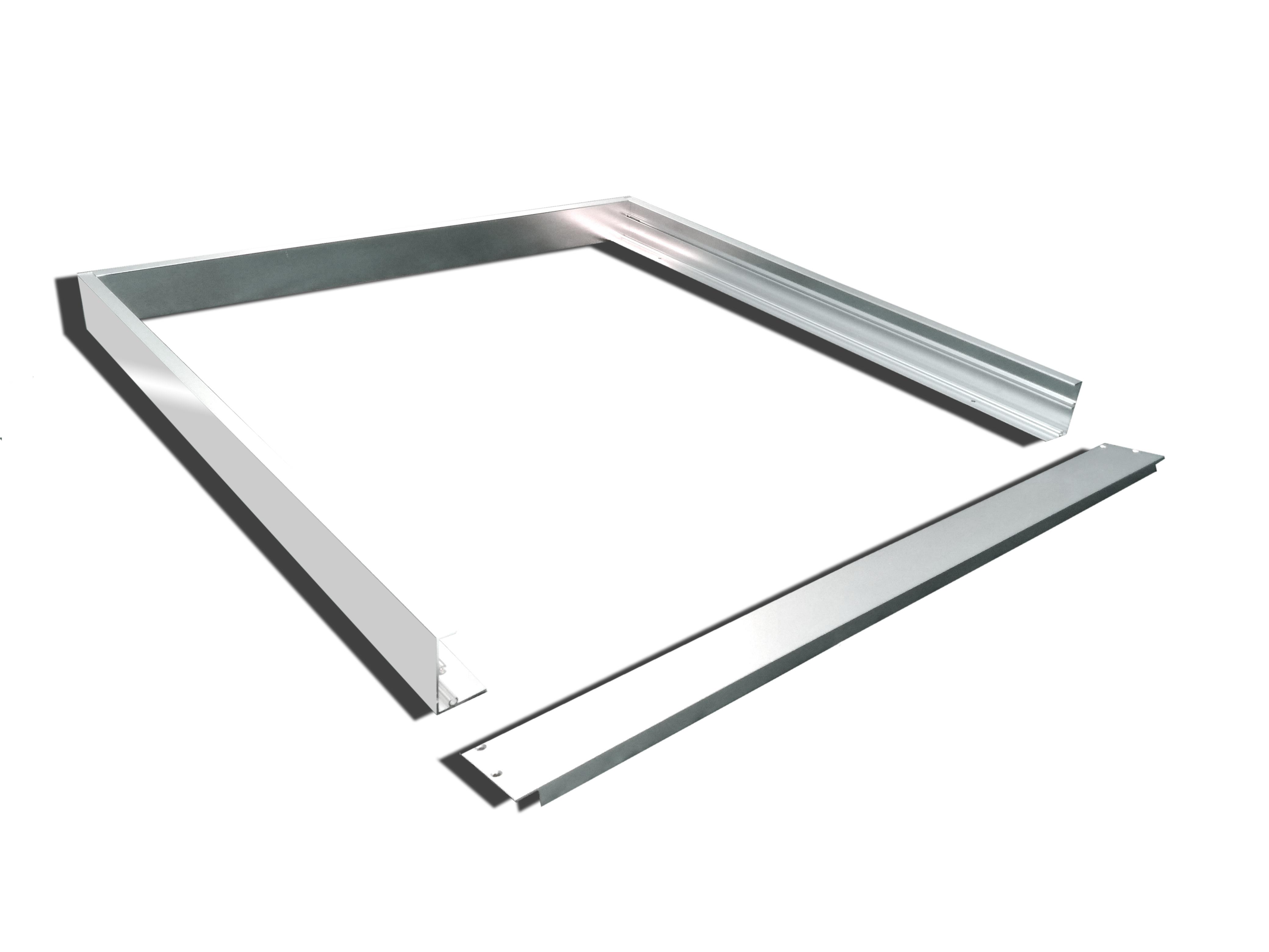 Extrem TXL24 - Alu Aufbaurahmen 60x60cm silberoxid für LED Panel für OW45