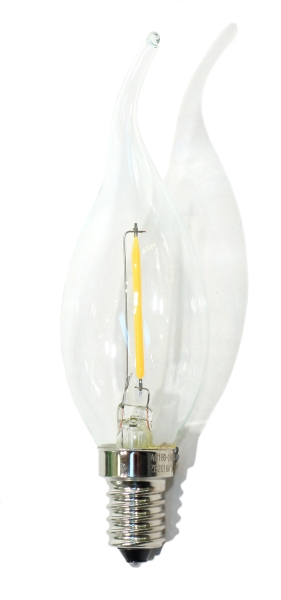 Kerzenlampe E14 Windstoss